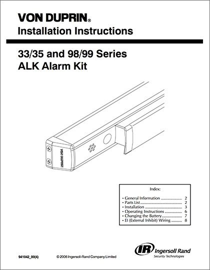 ALK Alarm Kit