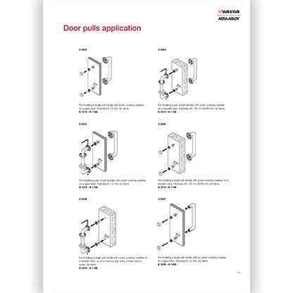 Door Pulls Application