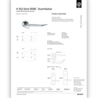 H 352 ODBC