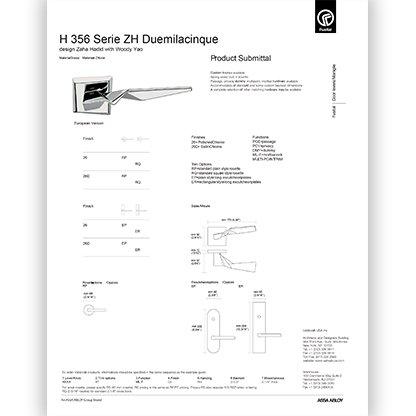 H 356 ZH