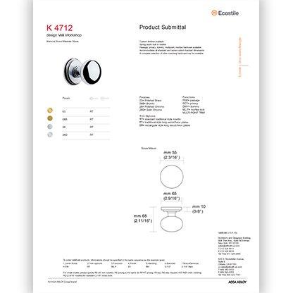 K 4712 Knob
