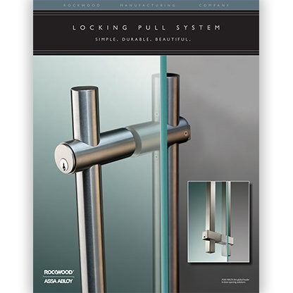 Rockwood Locking Pulls