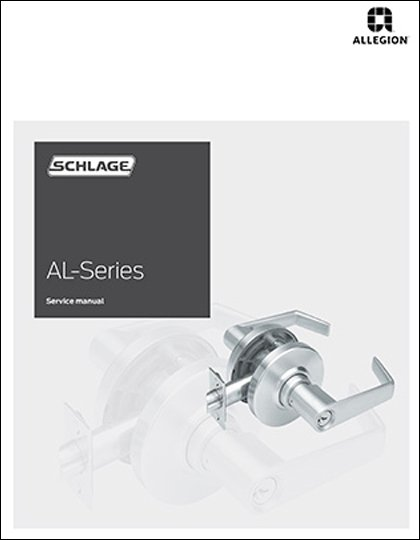 Schlage al series service manual.