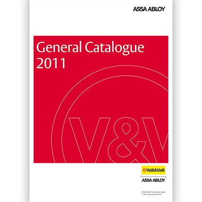 Valli&Valli General Catalogue