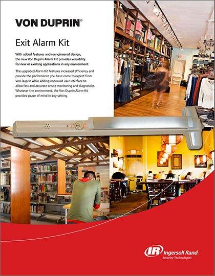 Von Duprin Exit Alarm Kit