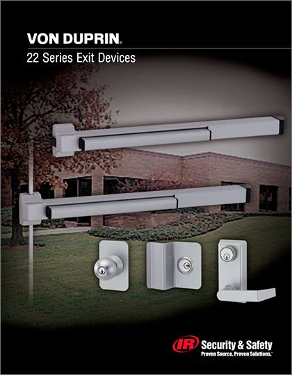 Series 22 Exit Device