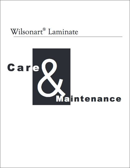 Wilsonart Care & Maintenance