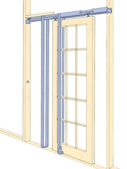 Lovely Penner Doors - 1500 Pocket Door VI49
