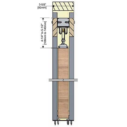 Penner Doors Type C Track