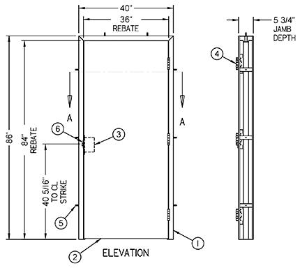 Penner Doors - Blast Resistant