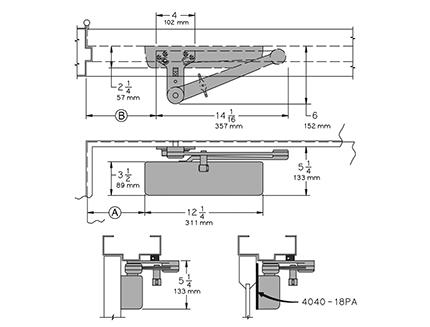lcn 4041 installation instructions