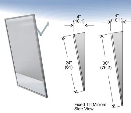 Penner Doors Mirrors Tilt Mirrors